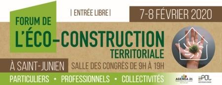 Retrouvez RECITA au Forum Eco-Construction les 7 et 8 février à Saint Junien
