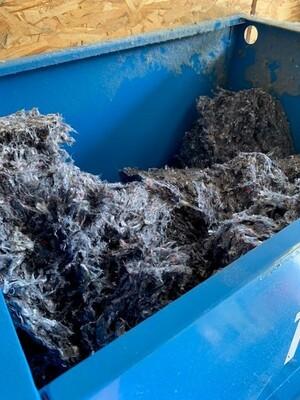 Collecte, Tri et recyclage des textiles usagés du territoire en isolant
