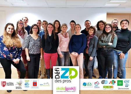 Lancement du Défi Zéro Déchet des Pros - édition 2020