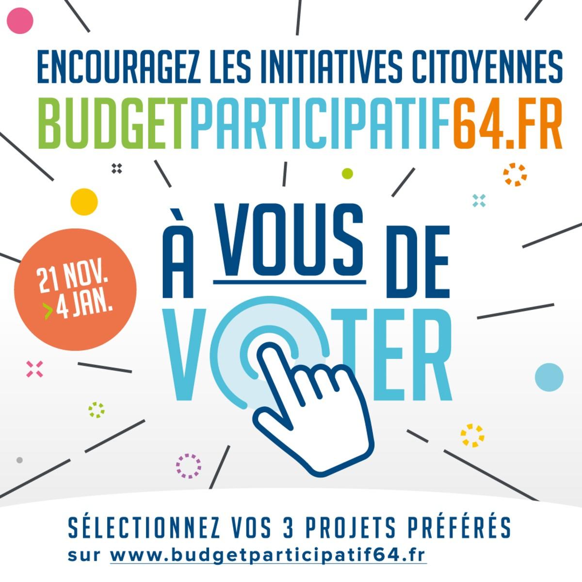 Budget participatif 64 - Financement d'une partie de notre matériel pour nos ateliers