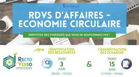 RDVS D'AFFAIRES - ECONOMIE CIRCULAIRE  @ Bressuire (79)