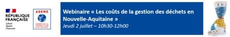 Webinaire - Les coûts de la gestion des déchets en Nouvelle-Aquitaine