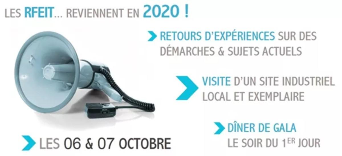 5èmes Rencontres Francophones de l'Écologie Industrielle et Territoriale, 6 et 7/10/20 à Troyes