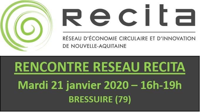 21 Janvier 2020 : Rencontre Réseau RECITA à Bressuire (79)
