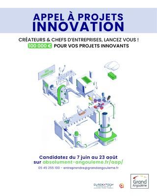 Appel à Projet « Innovation » de GrandAngoulême - édition 2021