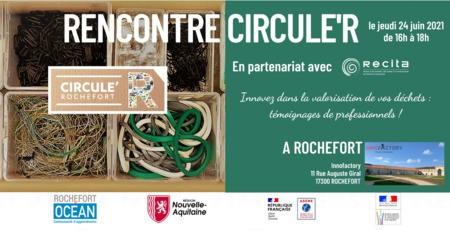 Rencontre Circule'R  en partenariat avec RECITA, le Jeudi 24 juin de 16h00 à 18h00