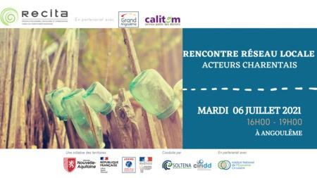 Rencontre Réseau Locale n°2 - Acteurs Charentais - Mardi 06 Juillet 2021