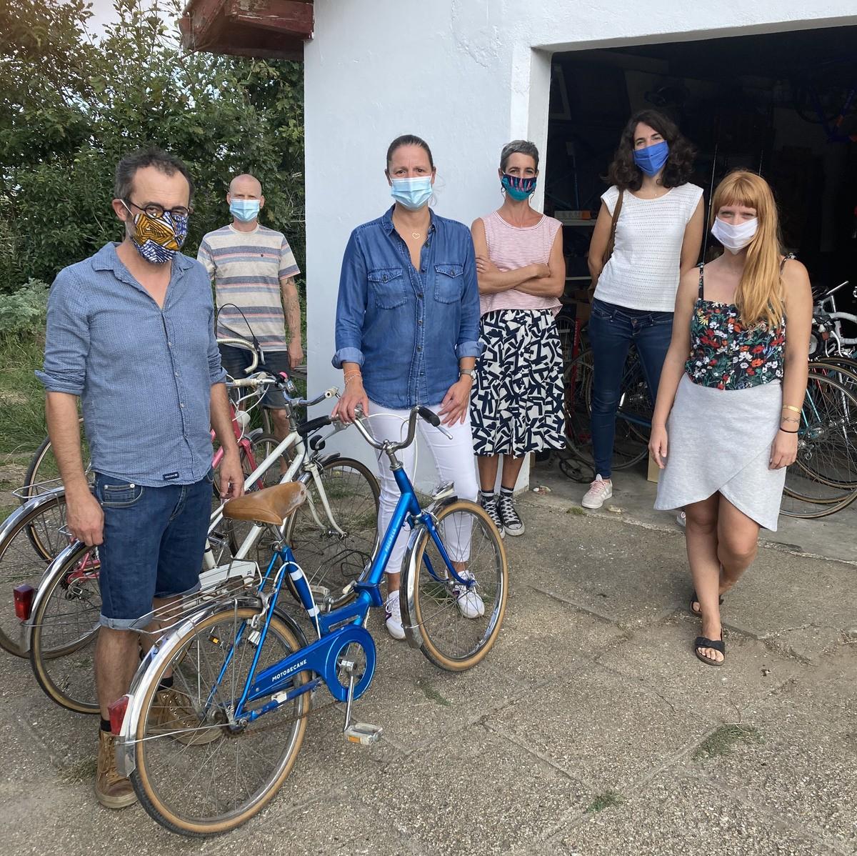 1 an, 300 adhérents, 400 vélos remis en état et autant de projets dans la tête !