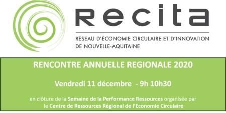 Rencontre Annuelle Régionale RECITA 2020 - 11.12 - 9h 10h30