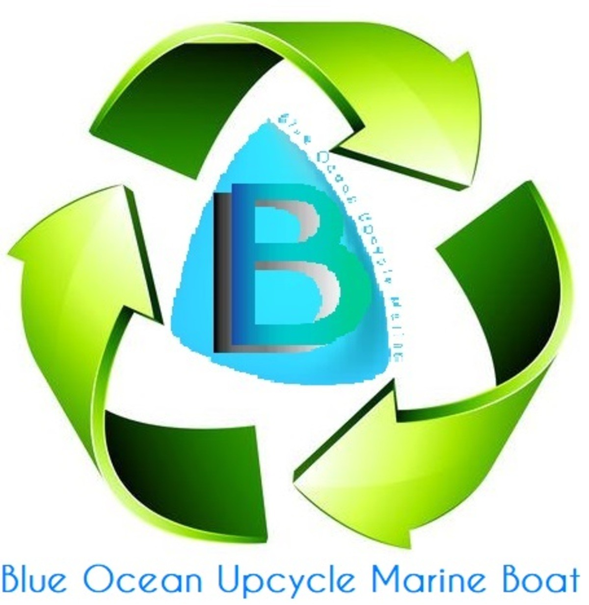 Blue Ocean Upcycle Marine Boat