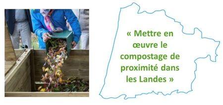 1ère rencontre landaise sur le thème des biodéchets et le compostage de proximité