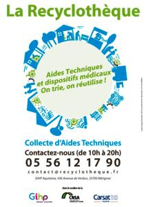 ECONOMIE CIRCULAIRE DES AIDES TECHNIQUES : LA RECYCLOTHEQUE
