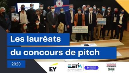 Retour en image sur les lauréats 2020 du concours de pitch Bask Invest