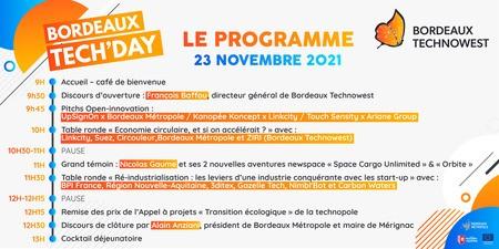 23 novembre 2021 - BORDEAUX TECH'DAY